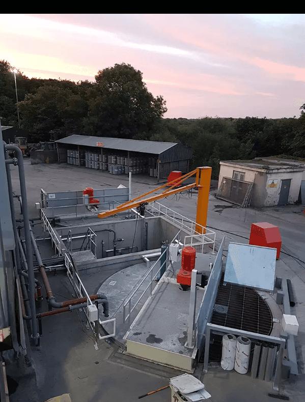 Aircrete project betonmix realisatie