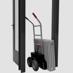 aangepaste steekwagen voor radiatoren