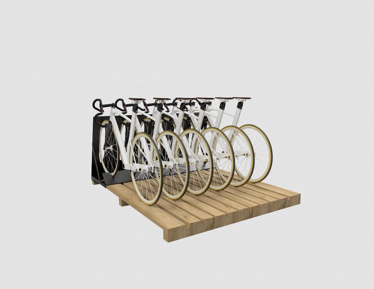 slim fietsenopslag systeem