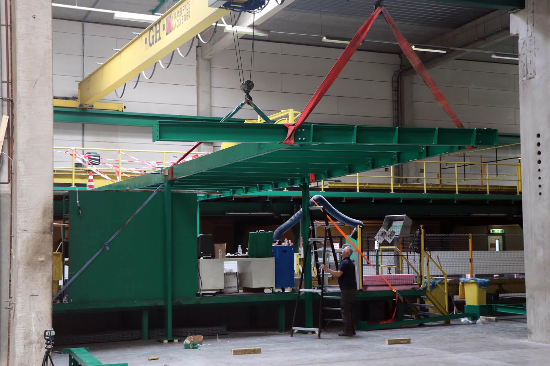 machinebouw op locatie in amsterdam