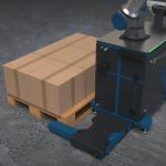 cobot voor stapelen dozen of pallets